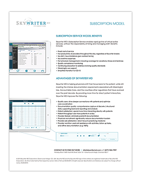 Enterprise Medical Scribe Program